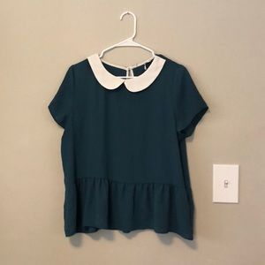 Piper and Scoot peplum top